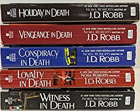 J.D. Robb In Death Series Set, Vols 6-10: Vengeance in Death, Holiday...; Conspiracy...; Loyalty...; Witness