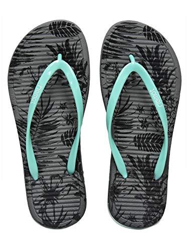 Riemot Chanclas para Mujer y Hombre, Flip Flop, Zapatillas para Playa, Piscina y Ducha, Zapatos Verano Ligero Cómodas Antideslizante