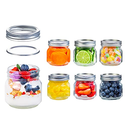 (60% OFF) 8oz Mason Jars W/ Lids 6-Pack $8.00 – Coupon Code