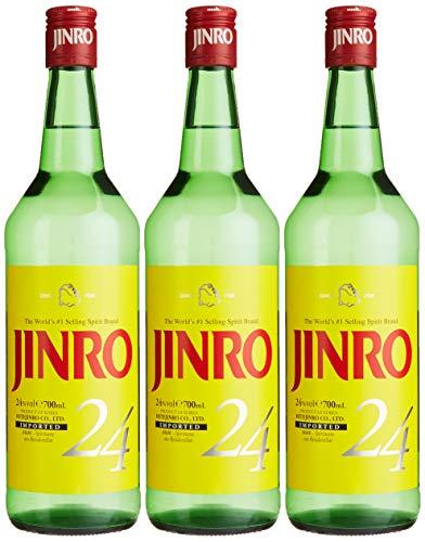 Jinro 24 - Soju (3 x 0.7 l)