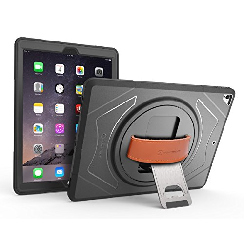 New Trent 2017/2015 iPad Case for iPad Pro 12.9 Inch (Old Model)(1st & 2nd Generation ONLY) Heavy Duty Gladius Full-Body Rugged Protective Case with Built-in Screen Protector. NOT for 3rd Generation