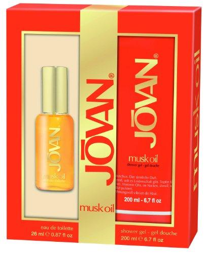 Jovan Musk Oil Geschenkset EdT 26ml+Duschgel 200ml