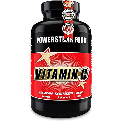 VITAMIN C | 200 Tabletten | Hochdosiert mit 1.000mg | Für Immunsystem & Kollagenbildung | Vegan | Rohstoffe in Pharmaqualität | Laborgeprüft | Deutsche Herstellung nach IFS