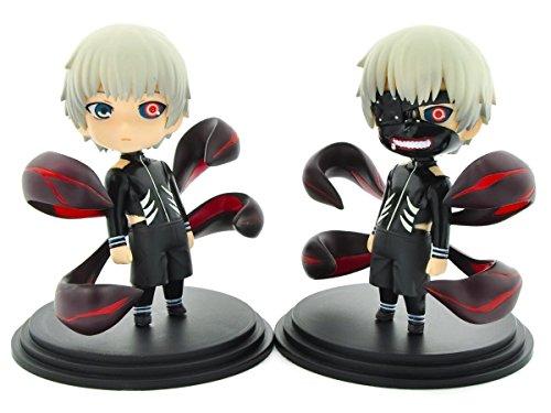 CoolChange Set de muñecos de Tokyo Ghoul, Incluye Dos muñecos de Ken Kaneki