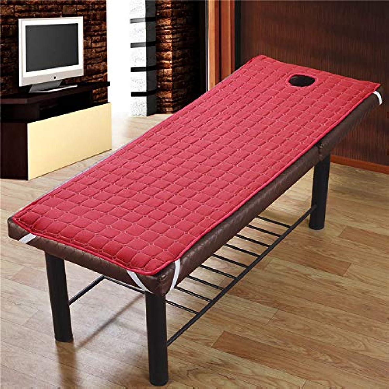定刻うがい信者Funtoget ?美容院のマッサージ療法のベッドのための滑り止めのSoliod色の長方形のマットレス