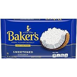 Baker's Angel Flakes Sweetened Coconut (7 oz Bag)