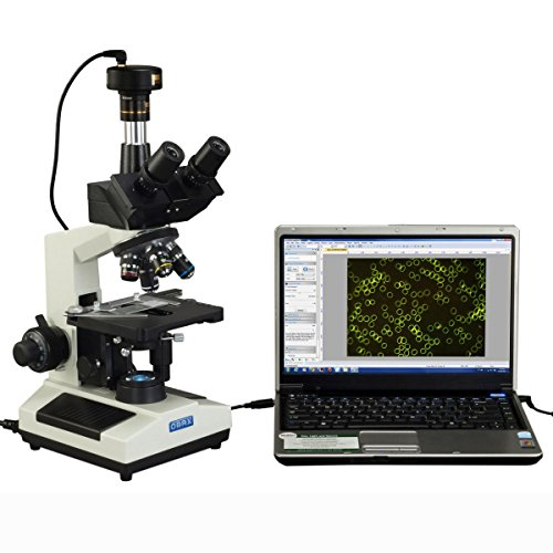 OMAX 40X-2000X Darkfield Compound Trinocular Biological LED Microscope with 3.0MP USB Camera