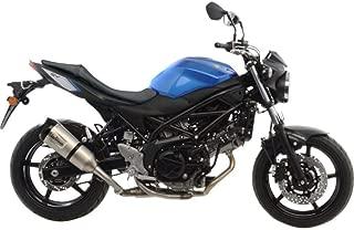 17-18 Suzuki SV650: Leo Vince Factory S Slip-On Exhaust (Stainless Steel)