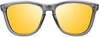 a226648705 Gafas de Sol Hombre Mujer Unisex Polarizadas UV400 Vooglers New York Sunset Cristales  Lentes Marrón Espejo