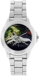 Unisex Stainless Steel Watch White Specter Crayfish Design