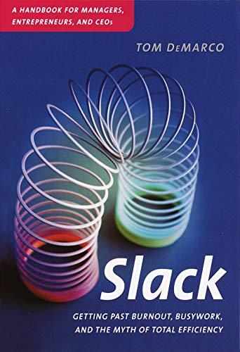 Livro Slack - Tom de Marco