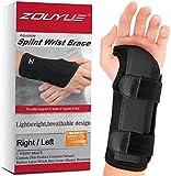 Wrist Brace Support Adjustable & Breathable Wrist Splint for Carpal Tunnel, Tendonitisand