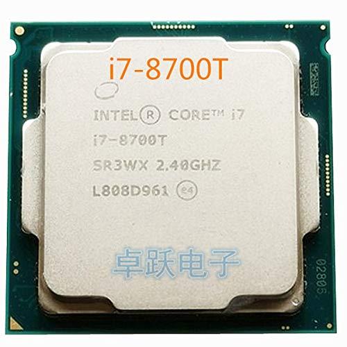 Procesador de CPU i7-8700T i7 8700T 2,4 GHz de Seis núcleos de 12 Hilos 12 M 35 W LGA 1151