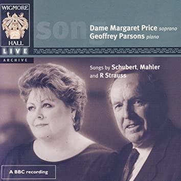 Songs By Schubert, Mahler, And R. Strauss - Wigmore Hall Live