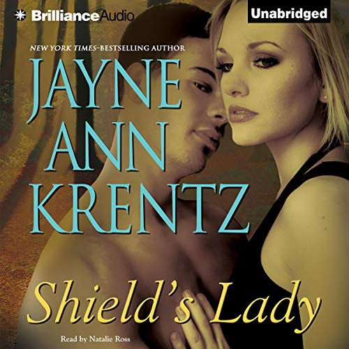 Shield's Lady audiobook cover art