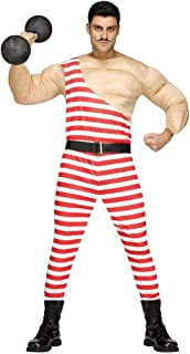 MUSCLE MAN CARNY AD STANDARD