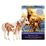 Breyer Traditional Series Misty & Stormy Model & Book Set | 2 Horse and Book Gift Set | 1:9 Scale | Model #1157