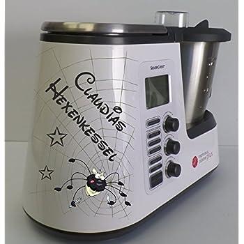 Grafix – Pegatina para Monsieur Cuisine Plus arañas Negro: Amazon.es: Hogar