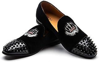 JITAI Mocassins Homme Cuir en Similicuir pour Hommes Chaussures Mocassins Chaussures De Mariage pour Hommes