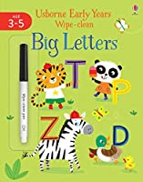 Big Letters (Usborne Early Years Wipe-Clean)