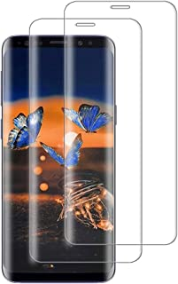 Galaxy S8 Plus ガラスフィルム S8 Plus フィルム ギャラクシーS8プラス フィルム SC-03J 保護フィルム S8プラス 強化ガラス SCV35 液晶 全面 【本体の湾曲する端まで貼れる/貼り付け簡単/気泡ゼロ】Sams...