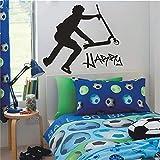 Wandaufkleber Kinderzimmer Wandtattoo Wohnzimmer Extra große Scooter Stunt Individuelle Aufkleber Home Decor Kids