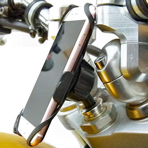 """Buybits Engagiert 13.3mm - 14.7mm (0.52 \"""" - 0.58 \"""") Lenkkopf Sport-Fahrrad Motorrad Halterung für IPHONE 7 (4.7 \"""")"""