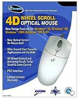I Concepts 4D Wheel Scroll Optical Mouse [並行輸入品]