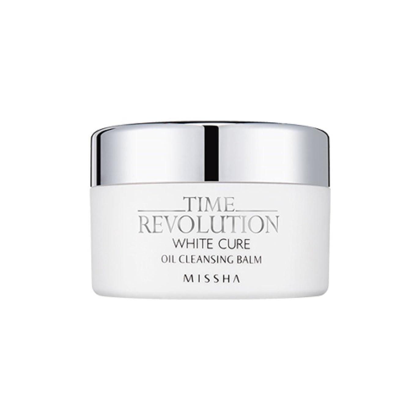 スープラフ鬼ごっこ[New] MISSHA Time Revolution White Cure Oil Cleansing Balm 105g/ミシャ タイムレボリューション ホワイト キュア オイル クレンジング バーム 105g