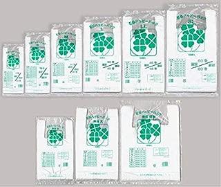 ESハッピーバック 乳白 M 1,000枚箱入(100枚×10袋)手提げ レジ袋 関東20号/関西35号