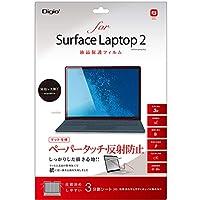 Nakabayashi SurfaceLaptop2用液晶保護フィルム ペーパータッチ TBFBSFL18FLGPA