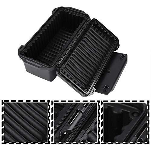 Wosune Caja al Aire Libre, Caja de Almacenamiento de Supervivencia,(C Type Waterproof Box: 200 * 98 * 82mm)