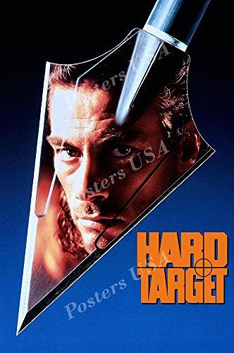 Posters USA - Van Damme Hard Target Movie Poster GLOSSY FINISH - FIL187 (16' x 24' (41cm x 61cm))