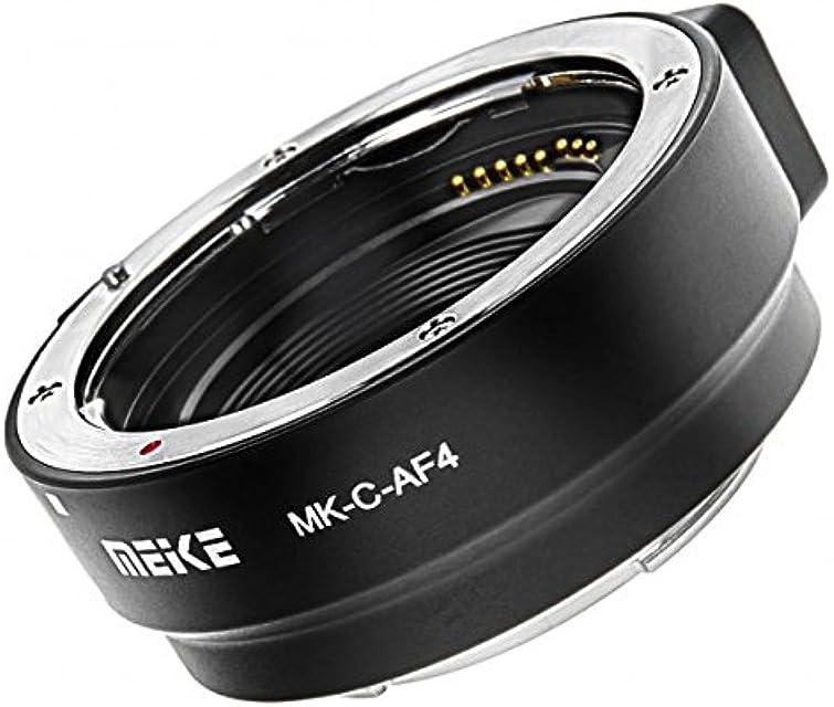 Anillo Adaptador de Canon EF y EF-S a EOS M - Meike MK-C-AF4.