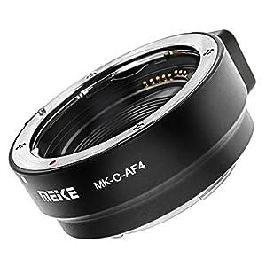 Anillo Adaptador de Canon EF y EF-S a EOS M Meike MK-C-AF4
