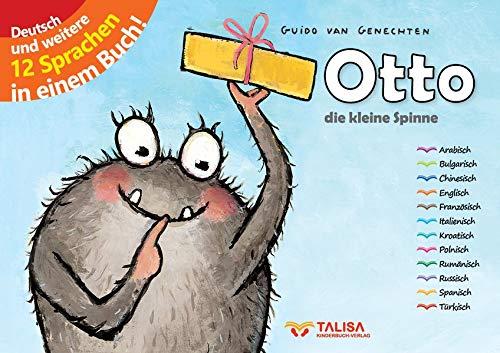 Otto - die kleine Spinne: (Erweiterte Neuauflage, in 13 Sprachen!)