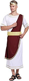 KESYOO Mens Roman Emperor Costume Julius Caesar Costume For Carnival Halloween Party Costume Cosplay Assorted Color