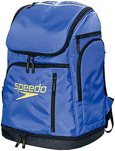 Speedo(スピード) プールバッグ 水泳 スイマーズリュック SD96B01 ブルー BL