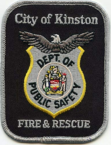 Embroidered Patch - Patches for Women Man - Kinston North Carolina NC Fire & Rescue FIRE