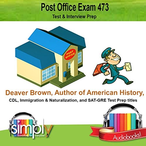 Post Office Exam 473 audiobook cover art