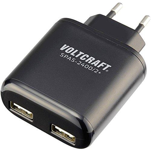 VOLTCRAFT Chargeur USB SPAS-2400/2+ Courant de Sortie (Max.) 4800 mA 2 x USB