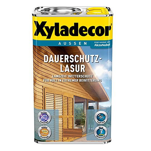 Xyladecor Dauerschutz-Lasur (2,5 l, kastanie)