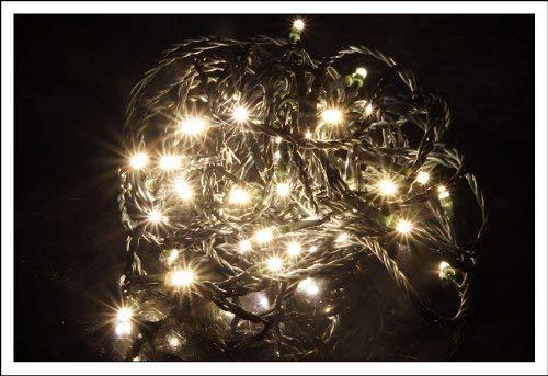 Christmas Concepts/® Pont en bois blanc en bois de No/ël avec lumi/ères LED chaudes Batterie