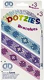 Diamond Dotz Dotzies Bracelets Kit Love 3pc