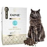 Empire Anti-Haarballen - Trocken Katzenfutter - 1,2kg - Premium Getreidefreies Trockenfutter für Langhaare Katzen - Hypoallergen - Glutenfrei -...
