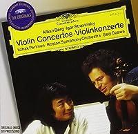 Berg, Stravinsky: Violin Concertos / Perlman, Ozawa (1996-08-13)