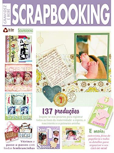 Gravidez e Bebê: Decorando Álbuns Scrapbooking Especial (Portuguese Edition)