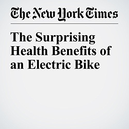 The Surprising Health Benefits of an Electric Bike audiobook cover art