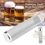 300 Mikron Edelstahl Bier Filter Brauen Filter Biersieb Sieber Sieb Bier Hopfen Tee Wasserkocher...