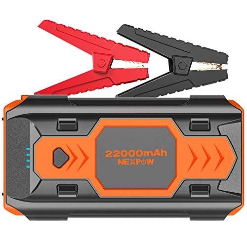 Sale!! NEXPOW 2500A 22000mAh Portable Car Jump Starter Q9B (up to 8.0L Gas/8L Diesel Engines) 12V Au...